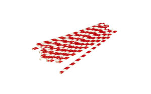 crveno bijele papirnate slamke