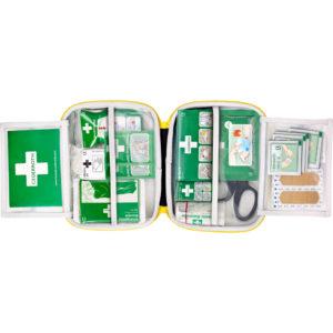 Set za pružanje prve pomoći u ugostiteljstvu otvorena kutija