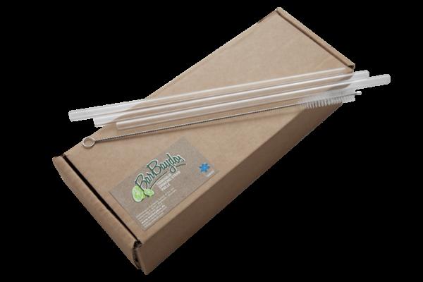 pakiranje staklenih slamki