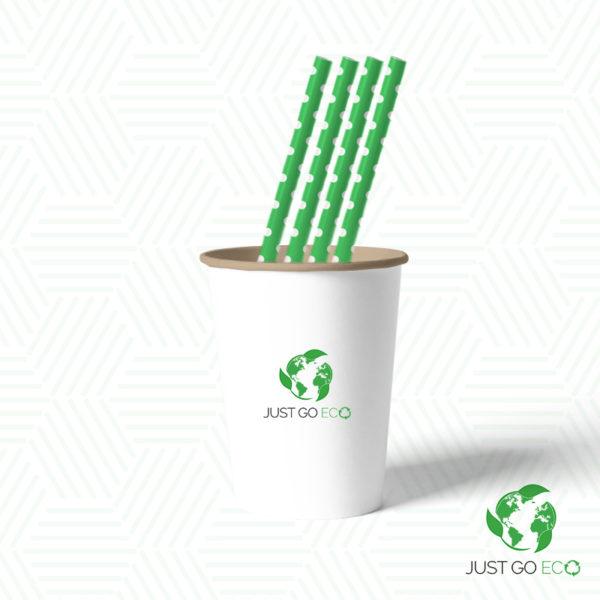 papirnate slamke zelene 8x230